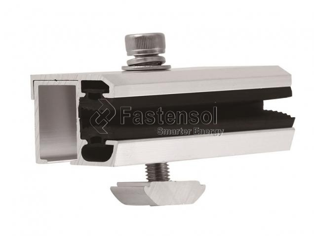 Mill Finish Aluminum Thin film module clamps