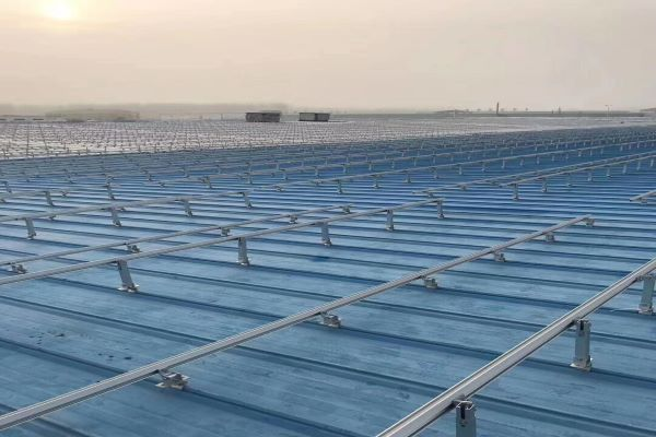 5MW Roof Clamps Solution In China